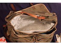 Fishing bag full of fishing equipment Lines, weights, hooks, flies etc See pics