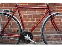 NEW CONDITION! Superb Classic BRITISH Mens Raleigh Hybrid Road City bike (like Pashley/Dawes/Claud)