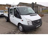FORD TRANSIT 115 T-350 D/C TIPPER – 61-RE
