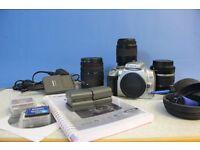 Canon 400d DSLR & accesories £225