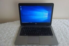 RRP: £719 16GB RAM HP EliteBook Laptop 840 14 Inches, 500GB HDD and SSD, Windows 10, Intel i5 2.9GHz