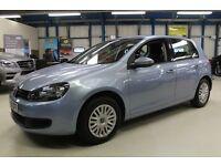 VW Golf S TDI [HIGH MPG / ONLY £30 ROAD TAX!] (pacific blue metallic) 2010