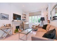 Nevern Square SW5. Raised ground floor one double bedroom apartment to rent (Short let)