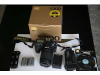 Nikon D300 Kit. 18-105mm lens and Battery Grip