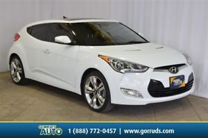 2014 Hyundai Veloster TECH PKG/PANO SUNROOF/NAV/CAMERA/LEATHER/B