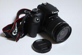 Canon EOS 1200D 18.0MP Digital SLR Camera - Black (Kit w/ EF-S 18-55mm Lens)