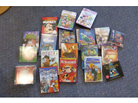 Children's DVD and CD collection