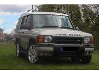 LANDROVER TD5 ES 7 SEATER FULL LEATHER