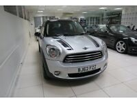 MINI COUNTRYMAN 1.6 Cooper D (Chili) ALL4 5dr (silver) 2012