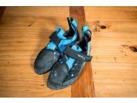 Scarpa Instinct VS-R climbing shoes, Size 38