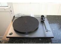 Rega RP1 turntable, record player, In black