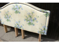 Country House style quality floral Super King Headboard