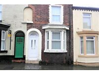 46 Goldie Street, Anfield 3 bedroom terraced house with gas central heating. DSS applicants welcome