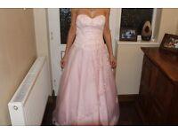 PROM/BRIDESMAID PINK DRESS