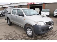 TOYOTA HILUX HL2 AHL 24 – Double Cab Pick Up - 62 REG (2013)