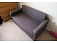 Blue/grey 2 seat sofa