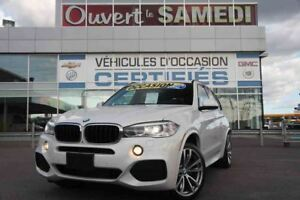 2014 BMW X5 XDRIVE 35I PACK M SPORT + 8 ROUES, 8 PNEUS