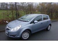 2009 Vauxhall Corsa 1.3 DIESEL **ECOFLEX** ***LOW MILEAGE*** £30 TAX, 60MPG, CHEAP INSURANCE,