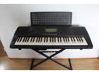 YAMAHA PSR-620 61 Note Portable Keyboard Workstation Floppy Drive MIDI