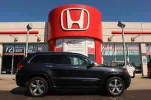 2014 Jeep Grand Cherokee Overland- TOP OF THE LINE MODEL!LESS TH