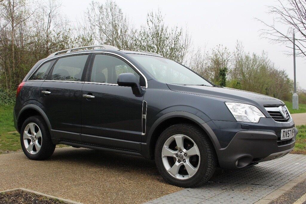 2007 Vauxhall Antara Se 20cdti 16v 4x4 Fsh 3 Month Warranty Sat
