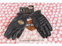 Genuine Harley Davidson leather gloves - BRAND NEW