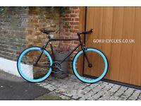 SALE ! GOKU cycles Steel Frame Single speed road bike TRACK bike fixed gear bike racing bike Q7