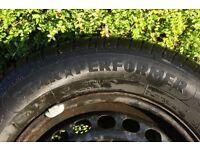 Audi A4 Steel Tyre 195/65R15 91V