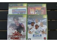 New, unused games for original XBOX - World Championship Rugby and XIII
