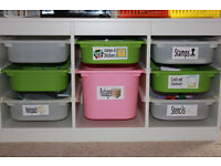 Wanted - Toy storage units