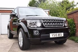 Land Rover Discovery SE Tech. 2015. 1 Owner. FSH. 22000 miles.Balance of warranty and service plan.