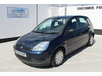 Ford Fiesta 1.4 LX 5dr (a/c) £1,795 p/x welcome 1 owner - FSH - Low miles