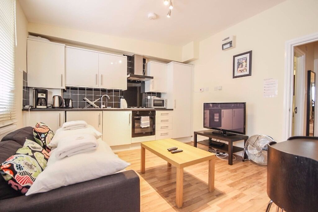 Lovely 1 bedroom apartment*5mins walk to Camden Town st.*Fully furnished*3 months minimum