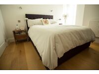 Excellent condition MADE double storage bed with luxury John Lewis mattress
