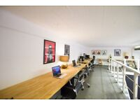 Desk space for hire in friendly film studio in London