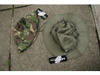 Pair of KombatUK Jungle Boonie Hats (one US Army style other Brit SF) Size Large