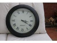 Large wall clock - retro style