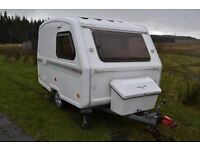 2012 Freedom Bijoux Microlite 3-berth caravan. Excellent condition and owned by us from new.