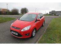 FORD C-MAX 1.6 ZETEC TDCI ,2014,Alloys,Air Con,Heated Front Screen,62mpg,£30 Road Tax,Full History