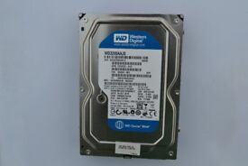 "320GB Western Digital 2700rpm 3.5"" SATA Internal Hard Drive"