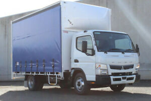 Fuso Canter 815 MWB AMT Curtainsider