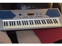 CAN RECORD AND PLAY KEYBOARD WITH POWER ADAPTER/CAN SEE WORKING