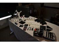 Phantom 2 (v2) + GoPro 4 Black + 4 Batteries + H3-3D Gimabl, BP Monitor + iOSD + Loads of Extras