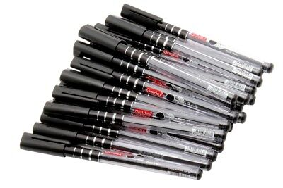 Wholesale Lot Of 50 - Goldex Klassy Ballpoint Pen Foiled Designer Body Black Ink