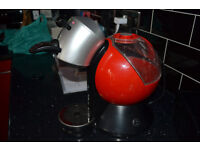 Dolce gusto red coffee machines