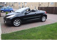 2008 PEUGEOT 207 cc sport 1.6 petrol CONVERTIBLE 47.000 miles IN VERY GOOD CONDITION
