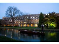 Group, Conference and Events Sales Agent - Double Tree by Hilton Cambridge. £16K PA plus bonus