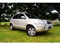 2007 HYUNDAI TUCSON 2.0 CRTD LIMITED 4x4 ** 1 LADY OWNER FROM NEW ** NEW MOT ** 3 MONTHS WARRANTY