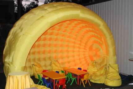 Kids' Party Igloo Package for hire- great kids party hire