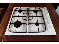 Gas Hob Indesit PIM 640AS 3 months old .no scratches. no marks, immaculate condition